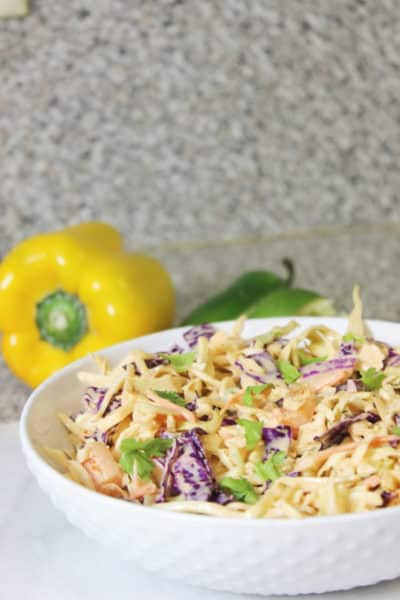 Mexican Coleslaw Recipe With South of The Border Flavor