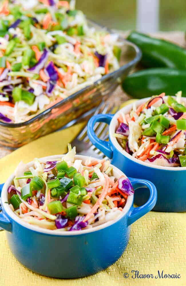 Cajun Honey Jalapeño Slaw