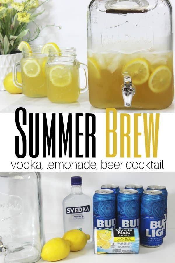 Summer Brew pin image