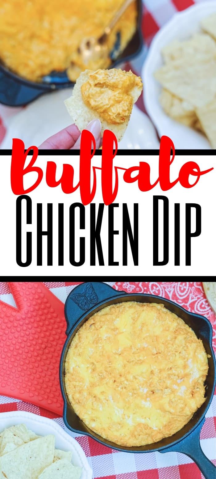 buffalo chicken dip pin image