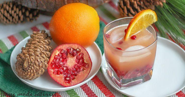 Orange Pomegranate Crush