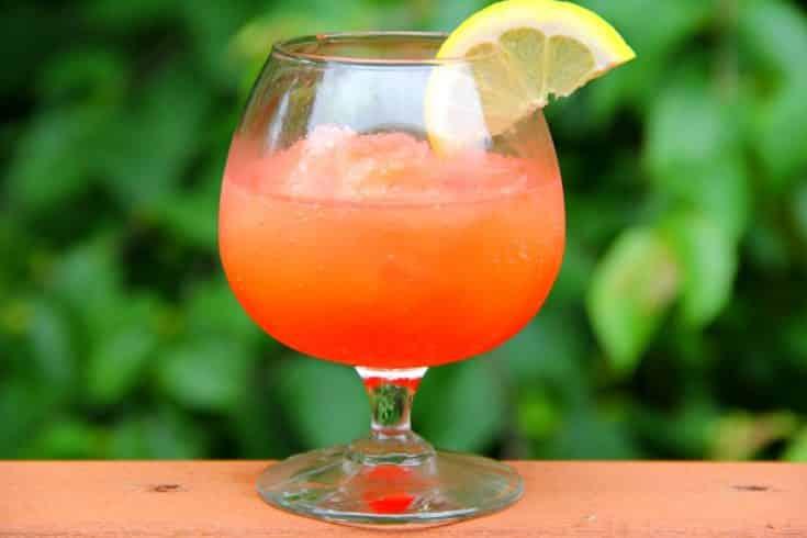 Pink Flamingo Vodka Slush
