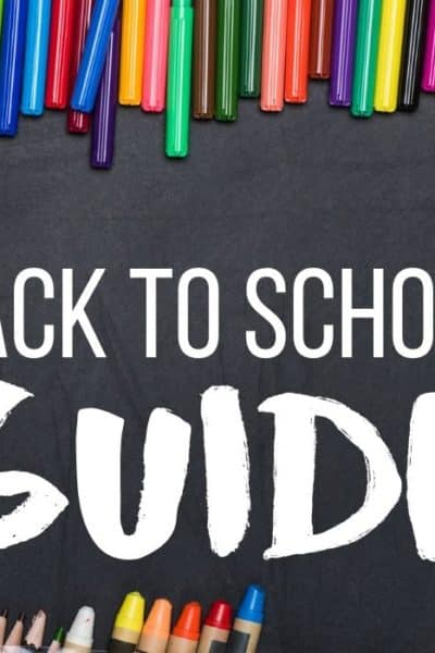 Back To School Guide