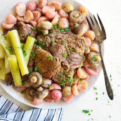 Instant Pot Pot Roast Recipe Low Carb Keto Easy - Joy Filled Eats