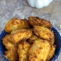 Air Fryer Garlic Parmesan Chicken Nuggets Recipe