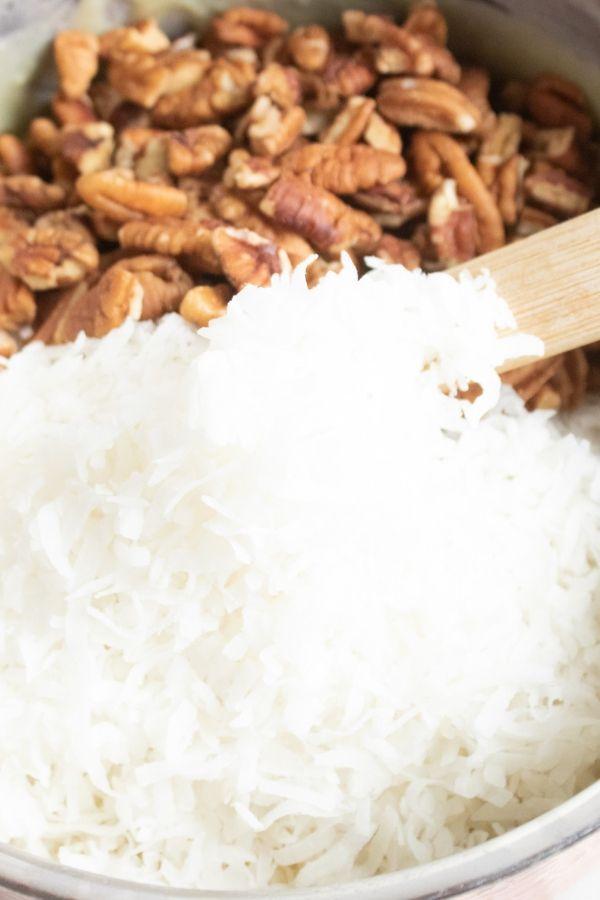 coconut pecan frosting