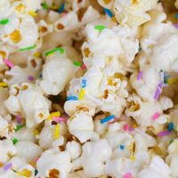 Marshmallow Popcorn Recipe With Sprinkles