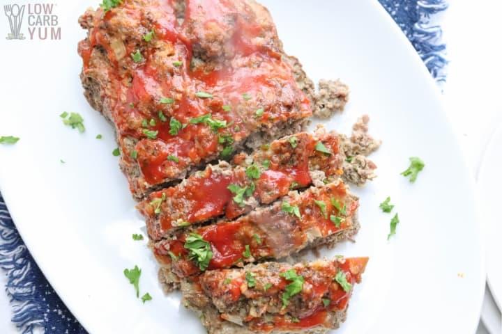 Instant Pot Meatloaf (Keto)