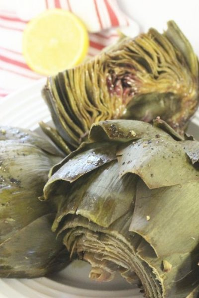 Easy And Delicious Roasted Artichokes