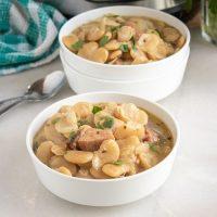 Instant Pot Butter Beans Recipe