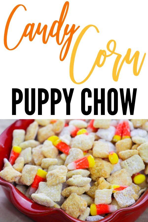 candy corn muddy buddies