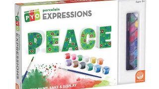 Paint Your Own Expressions: Holiday Peace | MindWare