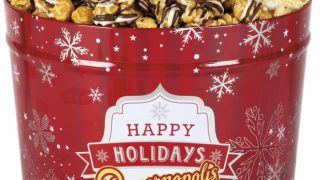 RED SNOWFLAKE • 2-Gal Caramel, Kettle, Zebra
