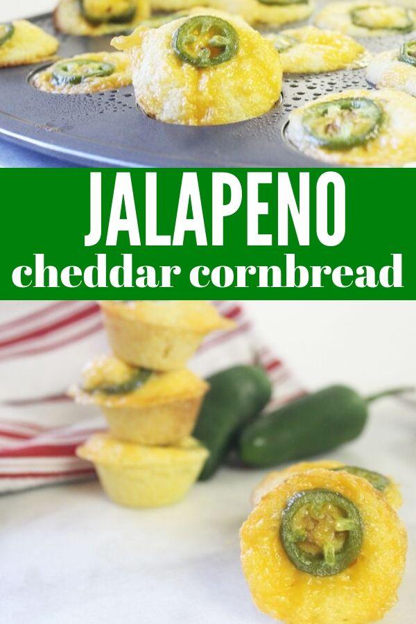 Jalapeno cheddar cornbread