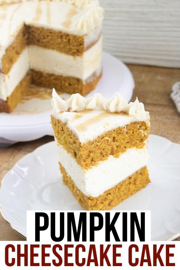 Pumpkin Cheesecake Cake (1)