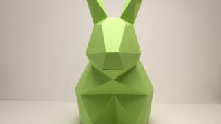Harold the Rabbit | DIY Paper Craft Animal Kit