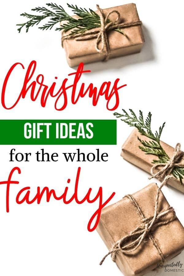 Family Christmas Gift Ideas.Oatmeal Pie