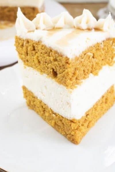 Incredible Pumpkin Cheesecake Cake Recipe