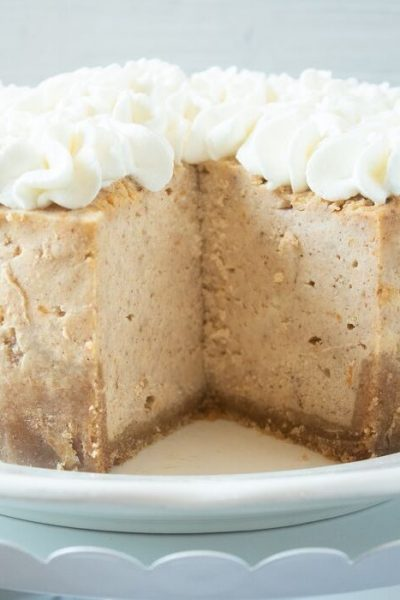 One Of A Kind Instant Pot Sweet Potato Cheesecake
