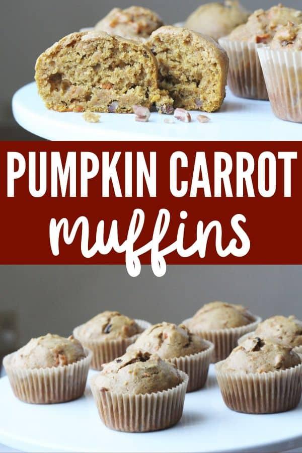 Pumpkin Carrot muffins