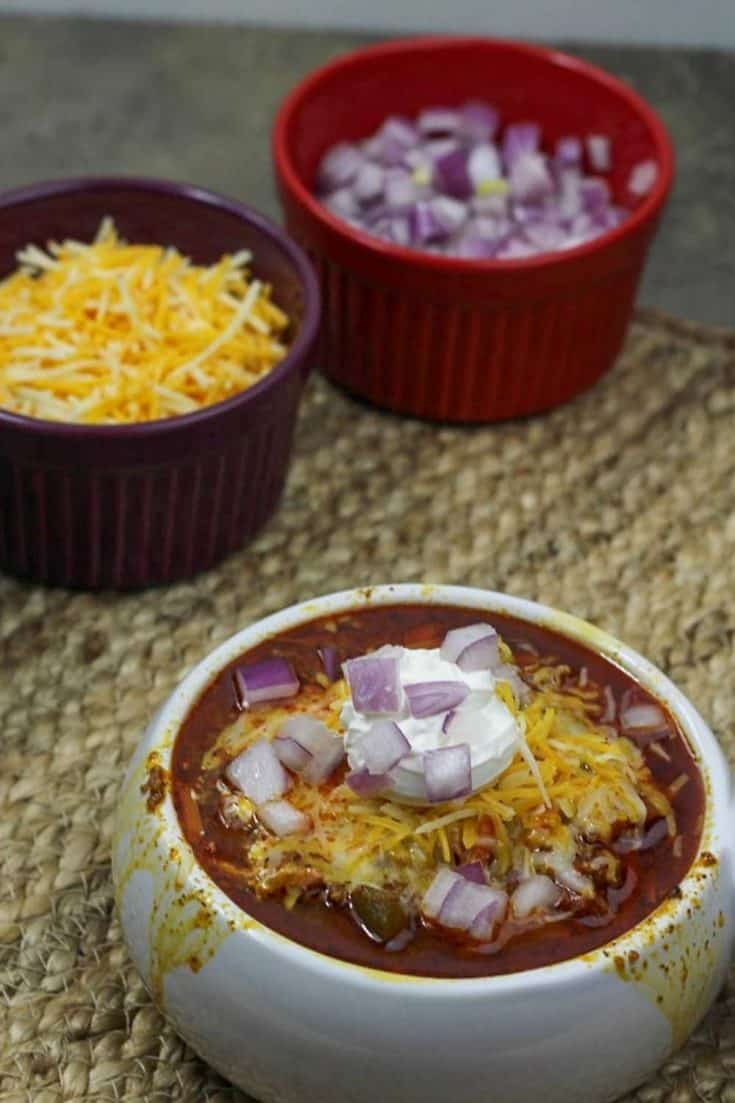 Easy Instant Pot Chili