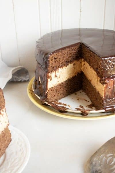 Incredible Chocolate Pumpkin Cheesecake Cake Recipe