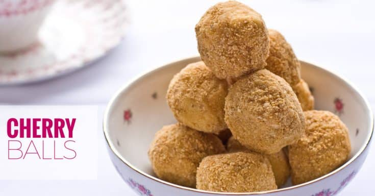 Traditional Cherry Balls Recipe Perfect for Christmas