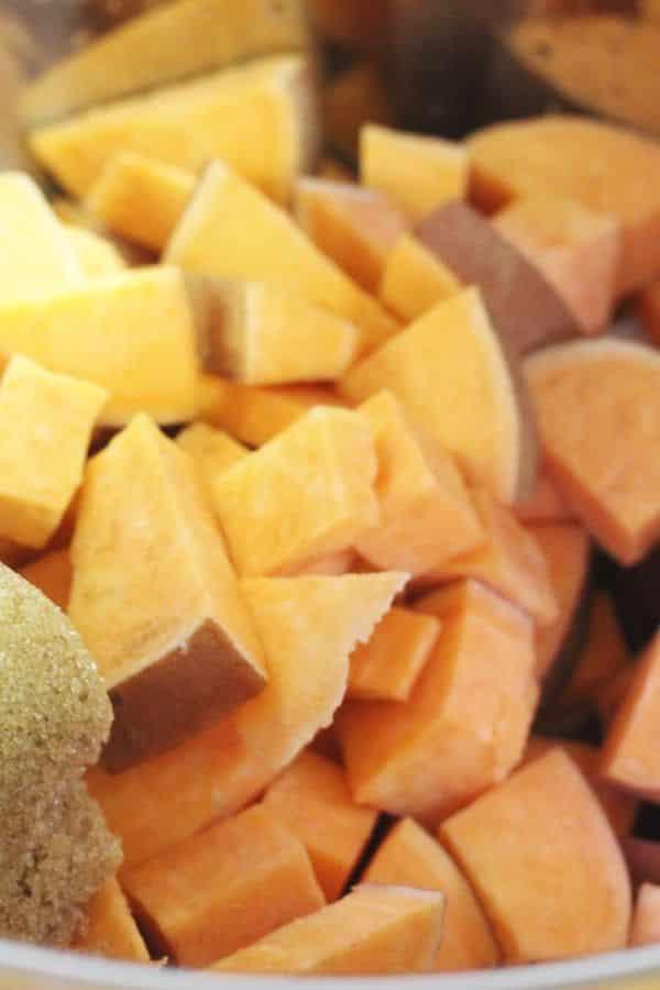 sweet potato instant pot