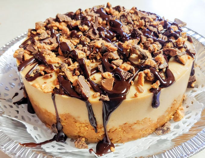 Instant Pot Reeses Cheesecake Recipe -Delicious and Made From Scratch
