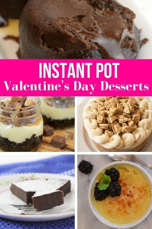 Instant Pot Valentine's Day Desserts
