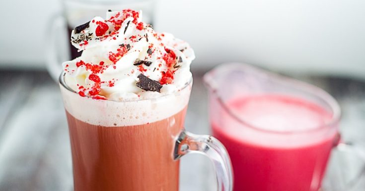 Homemade Red Velvet Coffee Creamer Recipe