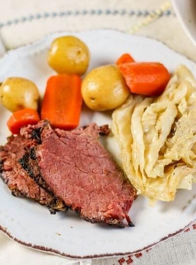 Ninja Foodi Corned Beef and Cabbage