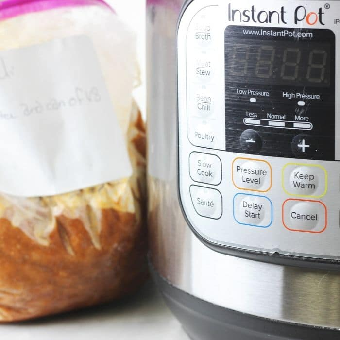 instant pot freezer meal