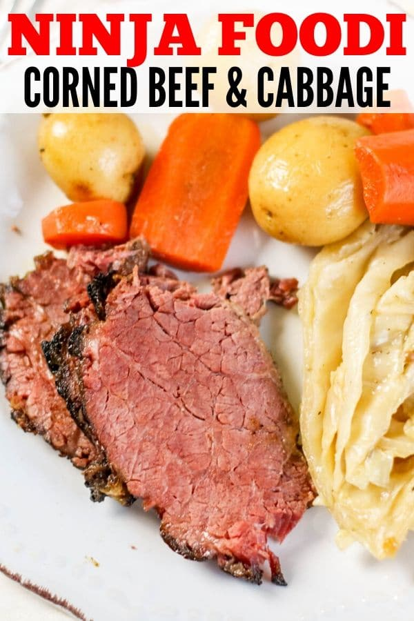Ninja Foodi Corned Beef and Cabbage