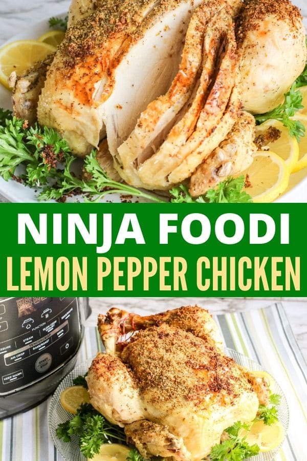 ninja foodi chicken recipe