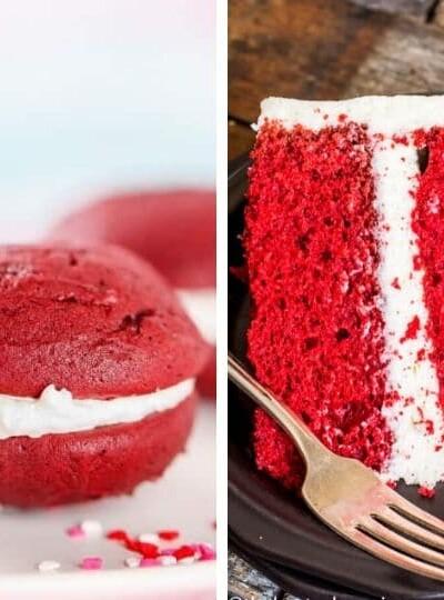 15+ Red Velvet Desserts and Drinks