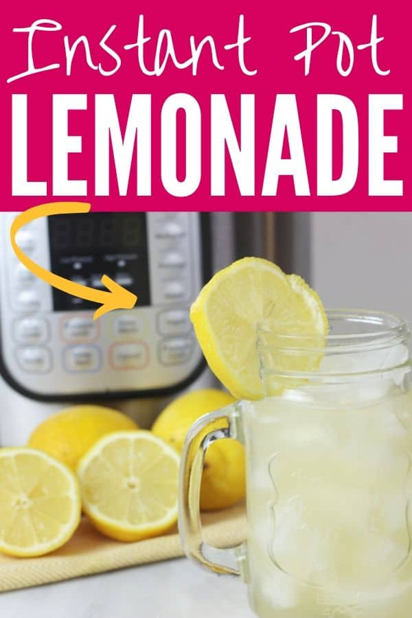 Instant Pot lemonade