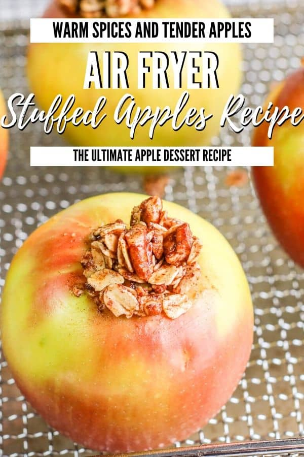 air fryer stuffed apples (1)