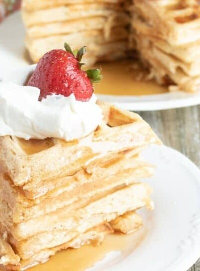 Crisp And Fluffy Buttermilk Waffles