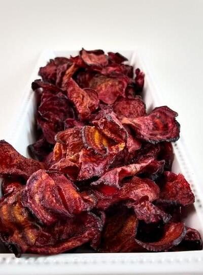 Easy Air Fryer Beet Chips