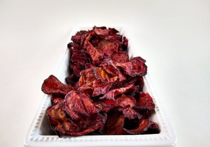 Air Fryer Beet Chips