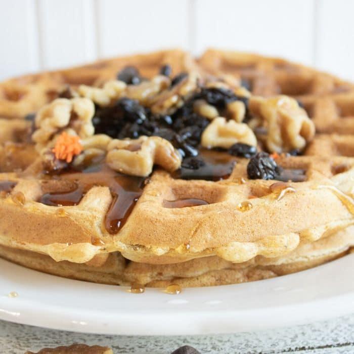 egg white belgian waffles