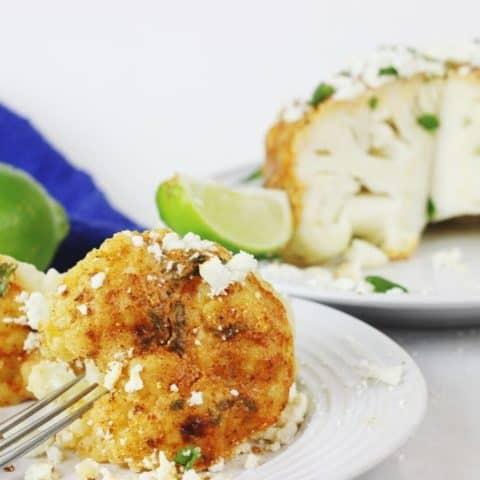 elote style cauliflower