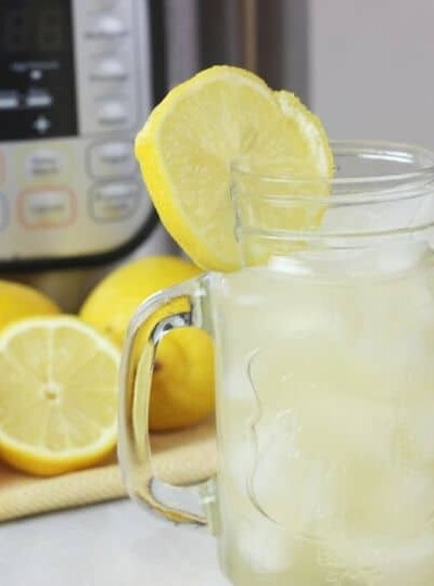 The Best Instant Pot Lemonade (with video)