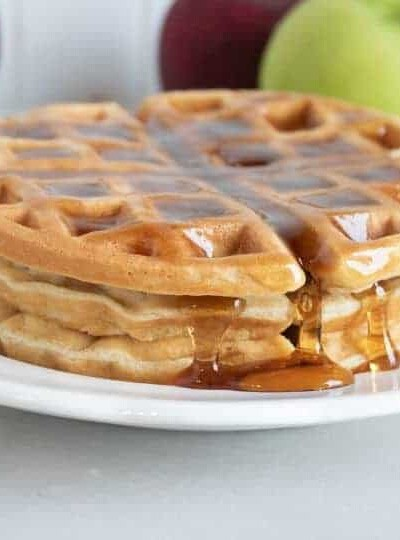 The Best Belgian Bacon Waffles