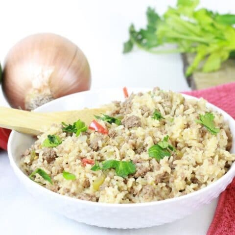 Instant Pot Dirty Rice