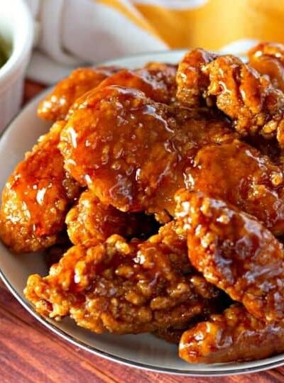 Air Fryer Sweet And Spicy Crispy Chicken Tenders