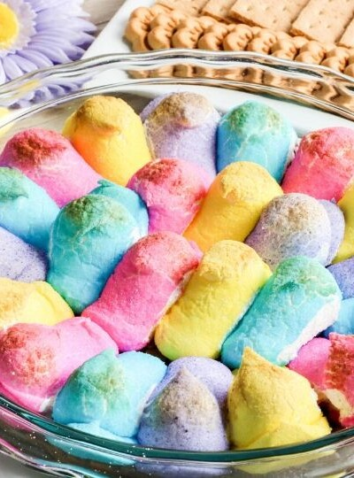 Peep S'mores Easter Dip Recipe