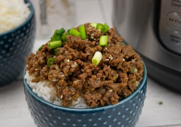 ground beef korean