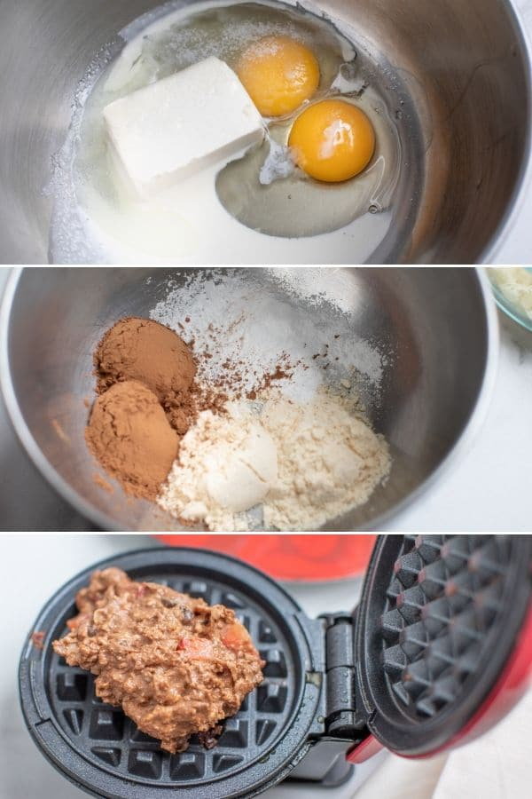 how to make chaffles